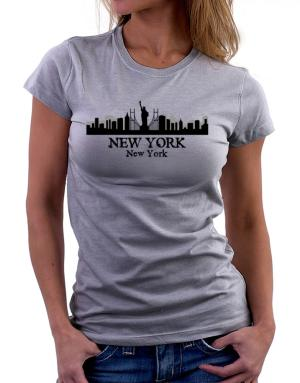New York city skyline Women T-Shirt