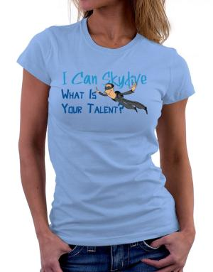 Polo de Dama de I can skydive what is your talent? skydiving