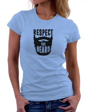 Polo de Dama de Respect the beard