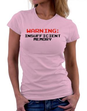 Polo de Dama de Warning insufficient memory