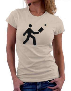 Pickleball Stickman Women T-Shirt