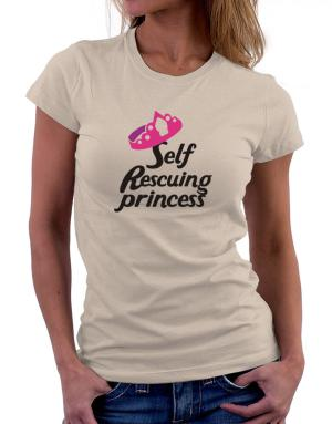 Self Rescuing Princess Women T-Shirt