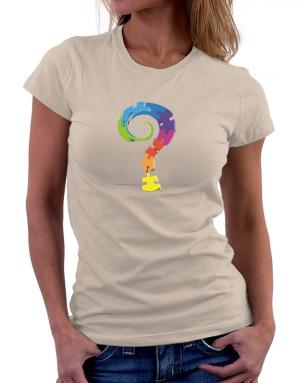 Query mark Women T-Shirt