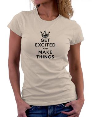 Polo de Dama de Get Excited and Make Things