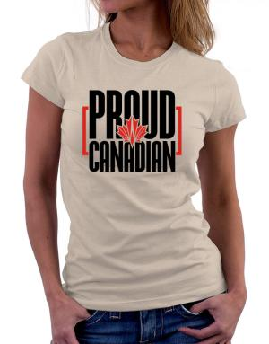 Playeras de Canada proud Canadian