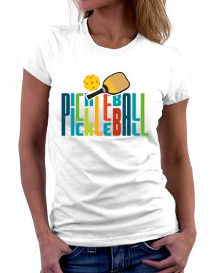 Pickleball fan Women T-Shirt