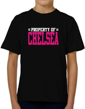 Property Of Chelsea T-Shirt Boys Youth