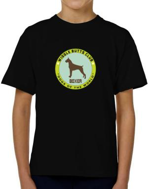 Boxer - Wiggle Butts Club T-Shirt Boys Youth