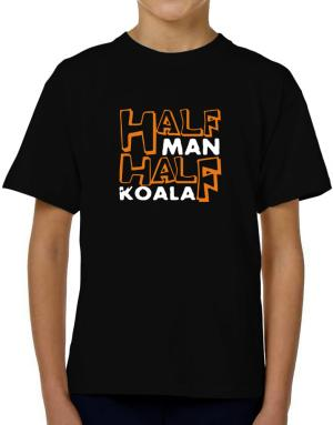 Half Man , Half Koala T-Shirt Boys Youth