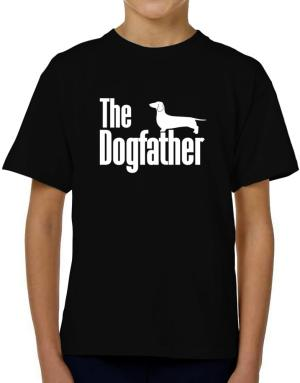 The dogfather Dachshund T-Shirt Boys Youth