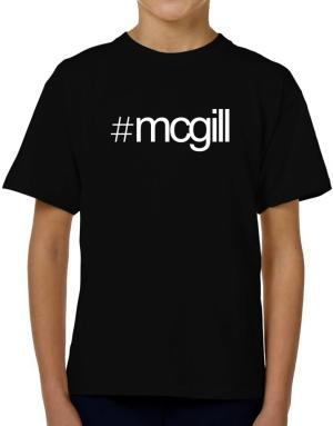 Hashtag McGill T-Shirt Boys Youth