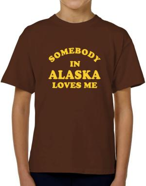 Somebody Alaska T-Shirt Boys Youth