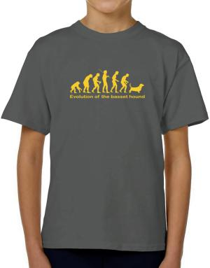 Evolution Of The Basset Hound T-Shirt Boys Youth