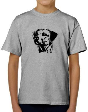 Rhodesian Ridgeback Face Special Graphic T-Shirt Boys Youth