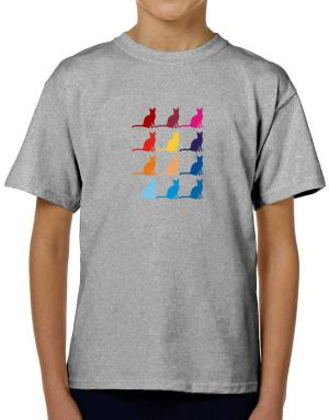 Colorful Siamese T-Shirt Boys Youth