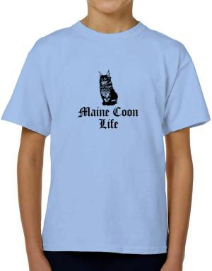 Maine Coon life T-Shirt Boys Youth