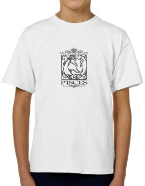 Pisces T-Shirt Boys Youth