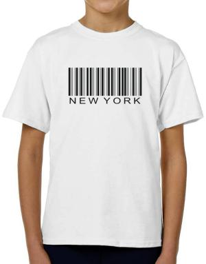 Barcode New York T-Shirt Boys Youth