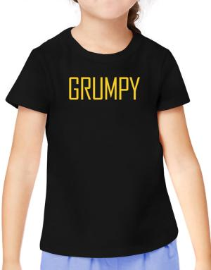 Grumpy - Simple T-Shirt Girls Youth