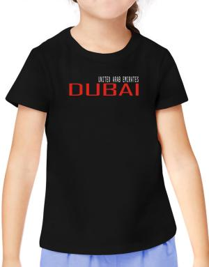 Dubai T-Shirt Girls Youth