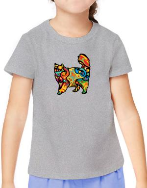 Psychedelic Nebelung T-Shirt Girls Youth