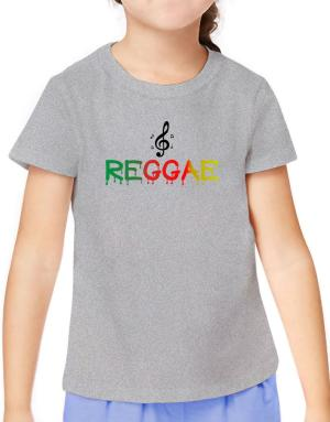 Dripping Reggae T-Shirt Girls Youth