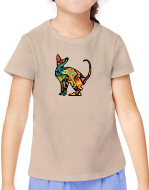Psychedelic Peterbald T-Shirt Girls Youth