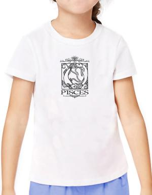 Pisces T-Shirt Girls Youth