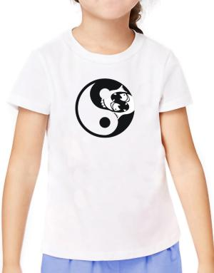 Yin Yang Pisces T-Shirt Girls Youth