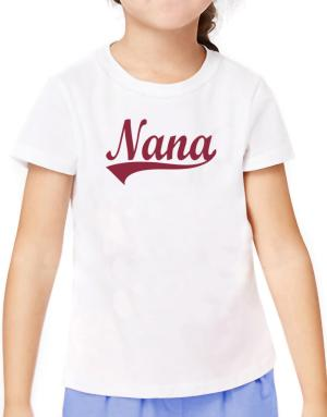 Nana T-Shirt Girls Youth