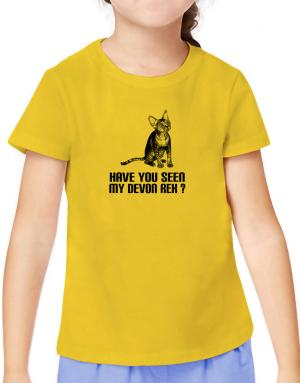 Have you seen my Devon Rex? T-Shirt Girls Youth