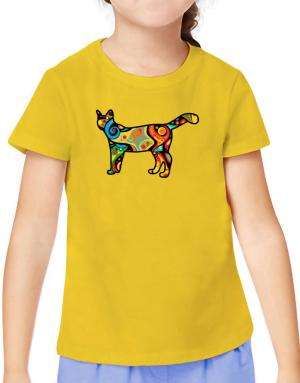 Psychedelic Savannah T-Shirt Girls Youth