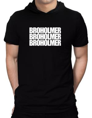 Broholmer three words Hooded T-Shirt - Mens