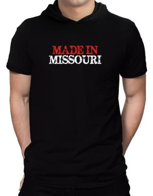 Made in Missouri Hooded T-Shirt - Mens