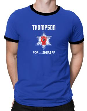 Polo Ringer de Thompson for Sheriff