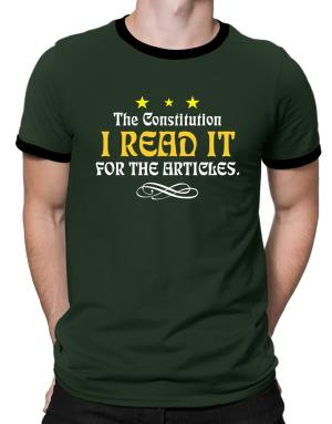 Polo Ringer de I Read The Constitution For The Articles