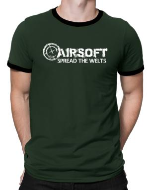 Airsoft spread the welts Ringer T-Shirt