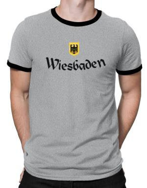 WIesbaden Germany Ringer T-Shirt