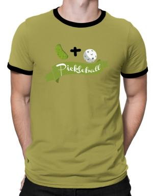 Polo Ringer de Pickle plus ball equals pickleball