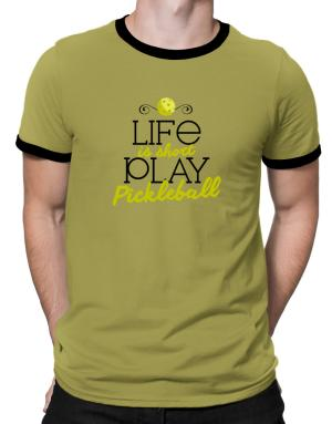 Polo Ringer de Life is short play pickleball