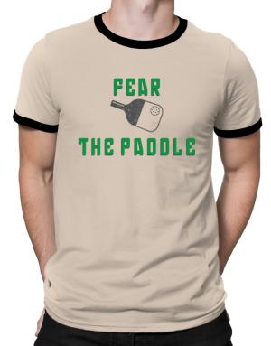 Polo Ringer de Fear the Paddle Pickleball