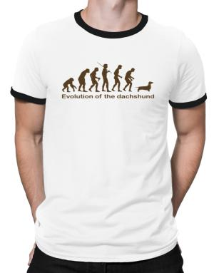 Evolution Of The Dachshund Ringer T-Shirt