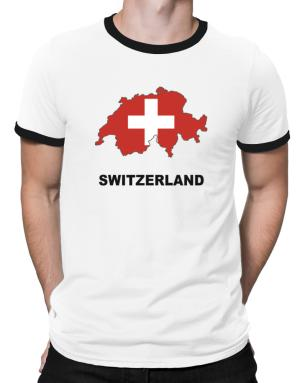 Polo Ringer de Switzerland - Country Map Color