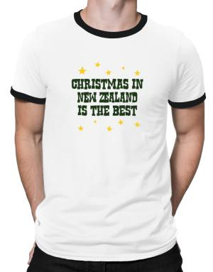 Christmas In New Zealand Is The Best Ringer T-Shirt