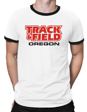 Track And Field - Oregon Ringer T-Shirt