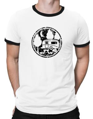 Travel trailer camping Ringer T-Shirt