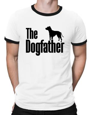 The dogfather American Pit Bull Terrier Ringer T-Shirt