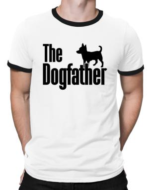 The dogfather Chihuahua Ringer T-Shirt