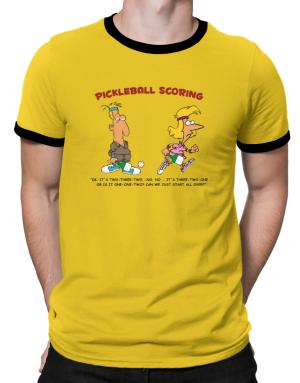 Polo Ringer de Pickleball Scoring