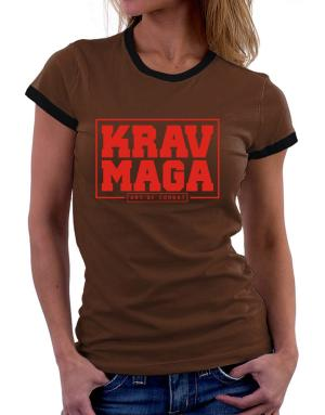 Krav maga art of combat Women Ringer T-Shirt